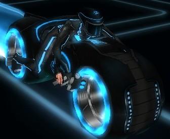 Curse motociclete tron 3D