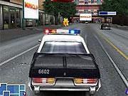 Masini 3d de politie in urmarire